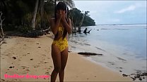 HD Ameteur Tiny Thai Teen Heather Deep day at t...