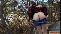 Sexy teen babe hitchhikes then gets pounded in ...