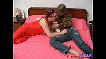 Busty Mom Helga vs Young Slava 1 porn videos