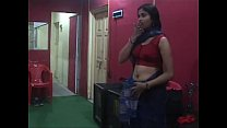 Sexy Desi Changing Saree SHowing Deep Navel and Boobs