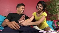 pierced amateur teen doggystyled pounded
