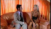 Lusty blonde babe gets hammered by a giant rod