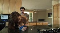 RayVeness Gets Fucked in Her Kitchen By Her Dau...