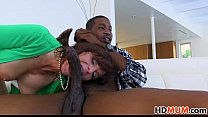 Stepmom Syren Demer and Elektra Rose fucked by BBC