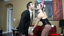 whore wife   cuck hubby cory chase ballbusting