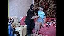 19 years old stepdaughter with dad