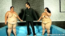 club fight Bbw