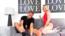AJ Applegate loving a big black cock to play with