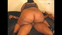 Black BBW With HUGE Ass Gets Fucked With BBC
