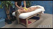 Порно массаж члена половыми губами