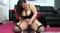 GERMAN PAWG SAMANTHA RIDES THE BLACK DONG FOR T...