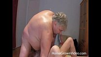 fat old man rimmed and deepthroated by hot milf
