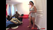 amateur french !! prevenir sans chatte sa dans ejacule il Creampie