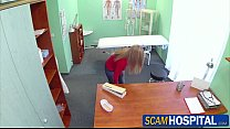 Beautiful new patient sexually seduces by the p...