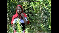 Little Red Riding Hood fucking with Panda in th...