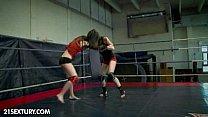 NudeFightClub presents Mira Shine vs Sophie Lynx