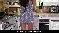 MyBabySittersClub - Hot BabySitter Becomes Full...
