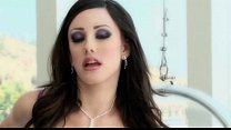 Jennifer White in stockings taking DP