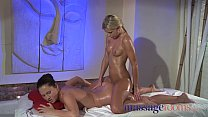 massage rooms lesbian gspot waves of orgasm with trib