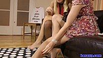 British mature licks gorgeous babes clit
