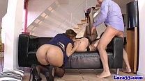 british milf shares cum with gorgeous babe