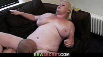 Her hubby cheats with huge bitch