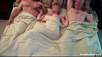 Exhausting Threesome For Amateur Grannie