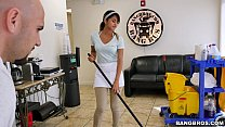 load! a swallows lady cleaning new the - Bangbros