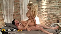 ORGASMS HD Up inside cute blonde with big natur...