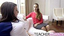 CASSIDY KLEIN MEGAN SAGE HOT TEACHER FUCKS STUDENTS thumbnail