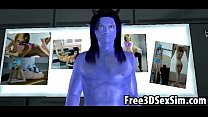 deed the doing aliens avatar cartoon 3d Sexy