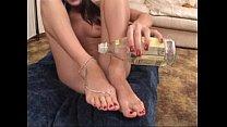 Barefoot Hot Cumshot