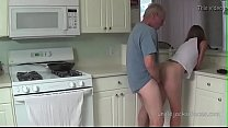 grandfather fuck a young beautiful skinny girl ...