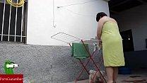 d... por ve me se y toalla la caído ha me Ups...se