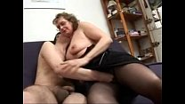 pornhub.com threesome in mature old Francoise,