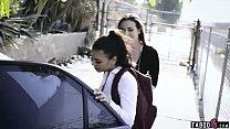 Deranged married couple kidnap teen schoolgirl and fuck her