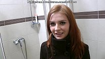 Redhead with innocent face doing perverted stuf...