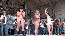 hot body biker rally contest in algona iowa