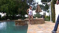 Natasha Nice Outdoor Wet By The Pool