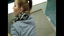 college girl getting fucked and creampied in the classroom