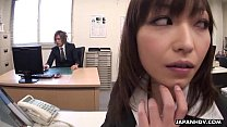 Lady Tsubaki is a sexual freak who gets creamed...