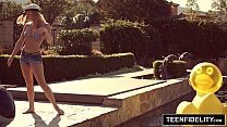 TEENFIDELITY - Bailey Brooke Creampied By Her Neighbor thumbnail