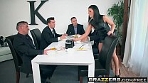 Brazzers - Real Wife Stories -  The Dinner Party scene starring Adriana Chechik, Keiran Lee, Ramon, porn videos