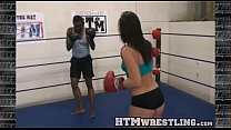 Boxing Sinn Sage Combat Fetish - Big Booty White Girl Boxer