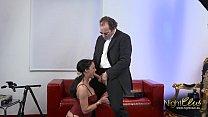 German Casting agent fuck mode