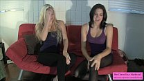 Two Hotties Talk about Busting Balls