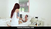 teensloveanal  tatted redhead ass fucked by boyfriend
