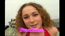 Paulina the curly hair hoe