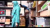 Arab Teen Caught Shoplifting