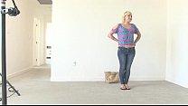 Nervous Blonde Inseminated at her Calendar Audition porn videos
